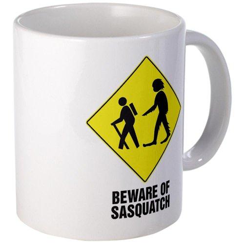 Cafepress Beware Of Sasquatch Mug - Standard