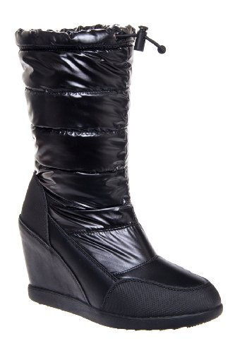Cougar Gander High Wedge Waterproof Quilted Mid Calf Boot