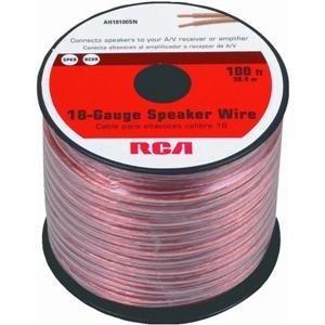 Rca Ah18100Sr 18-Guage Speaker Wire - 100 Feet