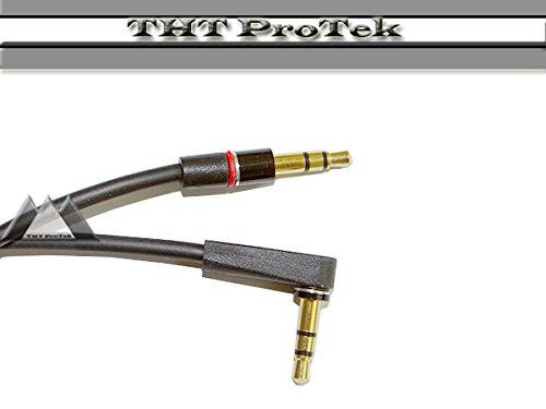 SCHWARZ Top Qualität AUX Stereo Audio Kabel 3,5mm Klinke für Mediaplayer Lenco Xemio 760 BT