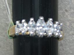 R.S. Coventant 288 CZ Princess Ring Size 9