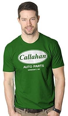 Callahan Auto Parts T Shirt Funny Tommy Boy Movie Tee