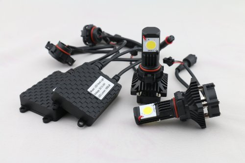 New Brights Led Headlight Conversion Kit - All Bulb Sizes - 50W 3600Lm Cree Led - Replaces Halogen & Hid Bulbs - 5202 (H16 Eu)