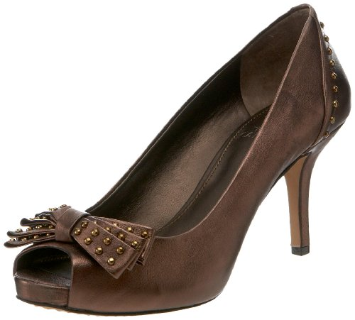Vince Camuto Women's VC-Kanary Pump,Dark Bronze,7.5 M US