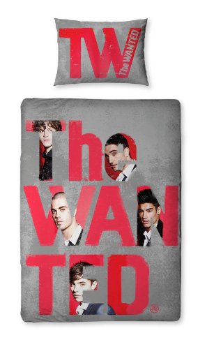 135 X 200 Cmthe Wanted Forever Single Panel Duvet Set By Character World