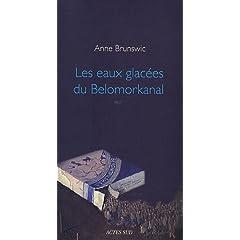 Les eaux glacées du Belomorkanal - Anne Brunswic