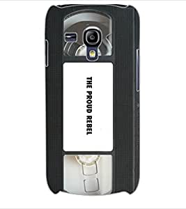 ColourCraft Retro Video Cassette Design Back Case Cover for SAMSUNG GALAXY S3 MINI I8190