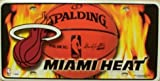 Miami Heat License Plate