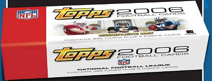 2006 Topps NFL Football Sports Trading Cards Factory Sealed Set (385 Cards including Rookie Cards of Reggie Bush, Matt Leinart, Vince Young & more + 5-Card Bonus Pack of Exclusive Rookie Players!) - Sportscards - Trading Cards - Football Cards (Reggie Bush Rookie Card compare prices)