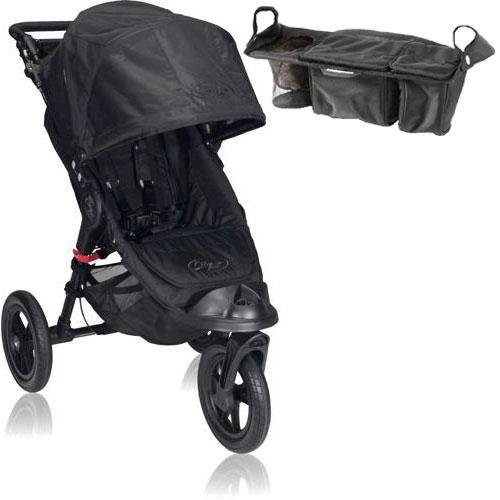 Baby Jogger Bj13210 City Elite Single With Parent Console - Black front-932068