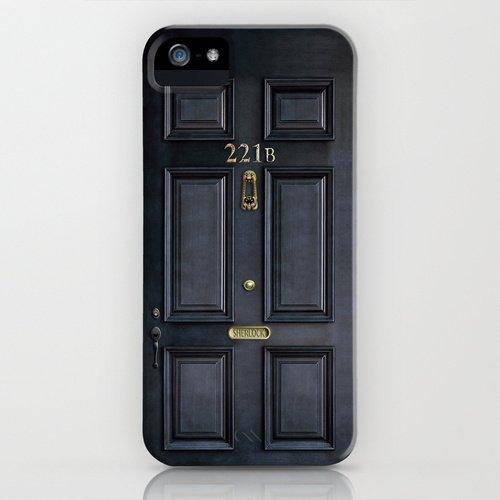 society6 iPhone5/5sケースClassic Old sherlock holmes 221b door並行輸入品 デザイナーズiPhoneケース