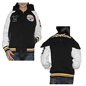 new style b3c4e a948c NFL Pittsburgh Steelers Womens Athletic Zip-Up Hoodie with ...
