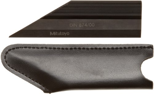 "Mitutoyo 528-102, 4"" Knife Edge Straight Edge With Protective Cover"