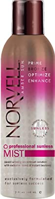 Norvell Amber Sun Sunless Tanning Aerosol Spray with Bronzer 7 Oz from Norvell