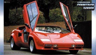 1/24 Lamborghini Countach 5000S Fujimi Real Sports Car  RS-38(Model Car Kit) (Lamborghini Model Kit compare prices)
