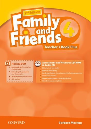 Family & Friends 4: Tg Pack 2ª Edición (Family & Friends Second Edition)