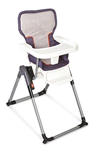 Delta Children Elite Fold High Chair, Urban Edge front-196407