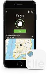 Tile (Gen 2) - Phone Finder. Key Finder. Item Finder - 1 Pack by TILEF