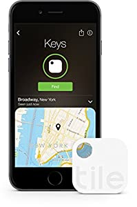 Tile (Gen 2) - Phone Finder. Key Finder. Item Finder  - 1 Pack