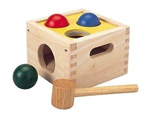 PlanToys - Caja con bolas Golpea y Cae (9424) de Plan Toys