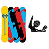 Forum Holy Moly Snowboard and Binding Package by Forum Novelties