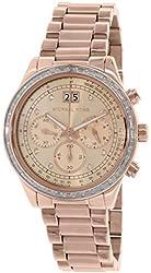 Michael Kors Women's MK6204 - Brinkley Rose Gold Watch