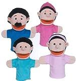 Get Ready Kids Hispanic Family Puppets