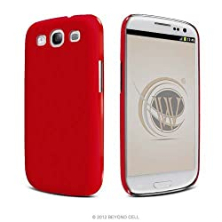 Honey Red Ultra Slim Back Protector Case Phone Cover Samsung Galaxy S III
