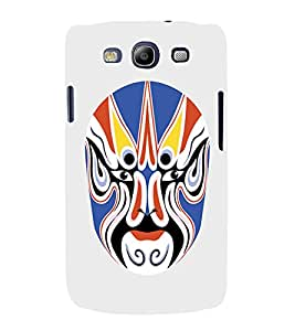 EPICCASE Beijing Opera Mask Mobile Back Case Cover For Samsung Galaxy S3 Neo (Designer Case)