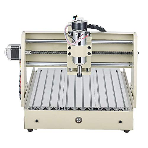 VPABES 3 Axis 3040 CNC Router Engraver DIY PCB Wood Engraving Milling Cutting Drilling Machine