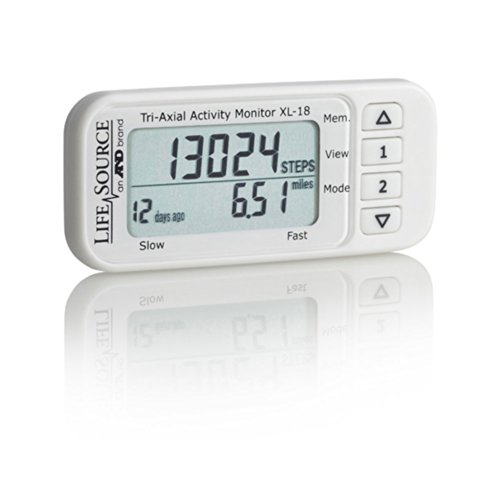 AND XL-18 (XL18) LifeSource Tri-axial Activity Monitor