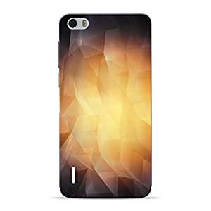 Mobile Back Cover For Huawei Honor 6 (Printed Designer Case)