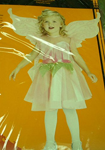 Deluxe Pink Fairy Princess Costume Wings 2 NWT