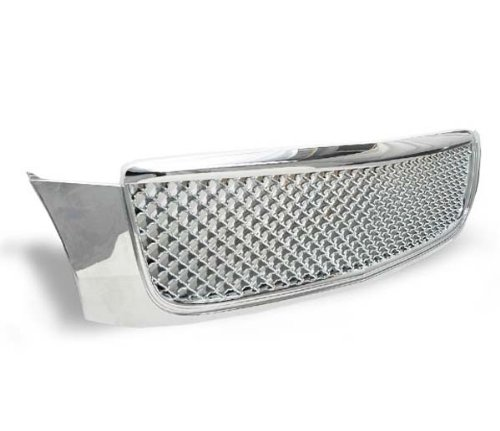 00-05 Cadillac Deville Front Mesh Sport Grille Grill Kit Chrome (Cadillac Deville Grilles compare prices)