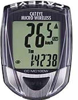 キャットアイ CC-MC100W サイクルコンピュータ ブラック マイクロワイヤレス