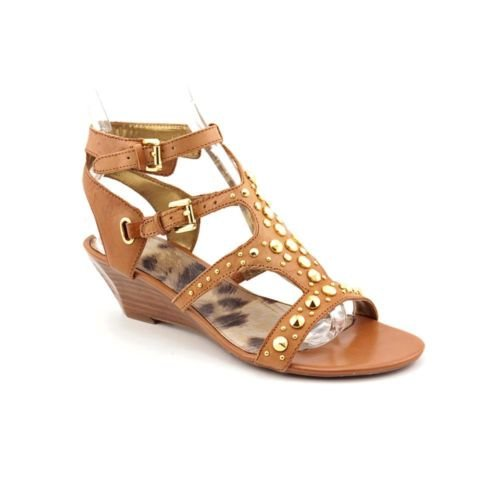 Guess Women'S Aidana Wedge Sandals In Medium Brown Size 8 front-872641