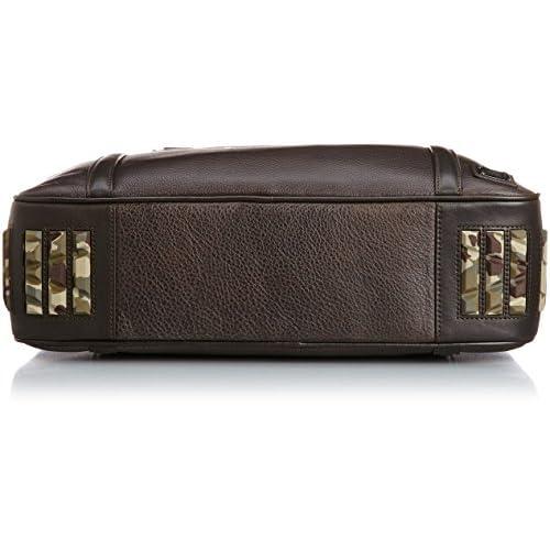 [ディーゼル] DIESEL メンズ ブリーフケース BRISK UP II - briefcase X03029P03960071UNI P0396T2154 (ダークブラウン/)