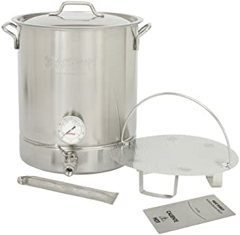 Bayou 16 Gallon Stainless Steel Brew Kettle