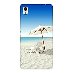 Delighted Vaccation Multicolor Back Case Cover for Sony Xperia M4