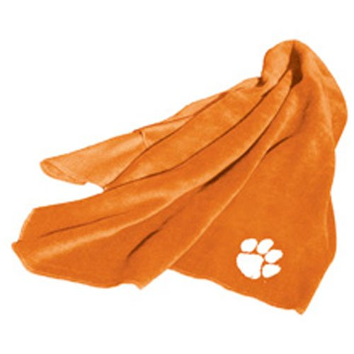 NCAA Clemson Tigers Fleece Throw Blanket at Amazon.com