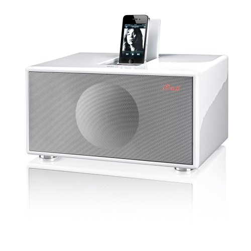 Geneva Sound System Model M All-in-One Stereo (White)