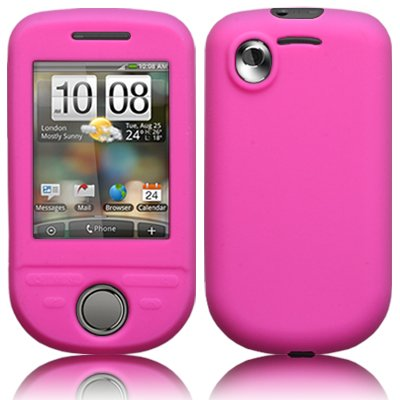 HTC TATTOO PINK SKIN CASE BY CELLAPOD MOBILE PHONE CASES -Protect your mobile with this soft silicone jacket. Made of high quality flexible silicone,