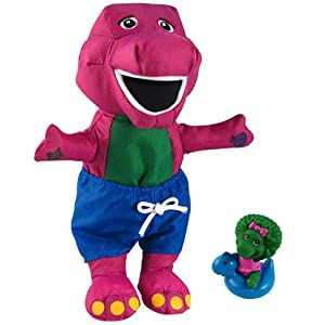 Amazon.com: PBS Barney Bath Fun Toy: Toys & Games