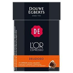 Order Douwe Egberts L'OR Espresso Delizioso, 10 capsules, Nespresso compatible - Douwe Egberts