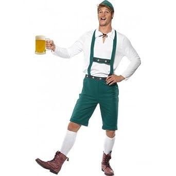 Mens Oktoberfest Bavarian German Swedish Beer Man Fancy