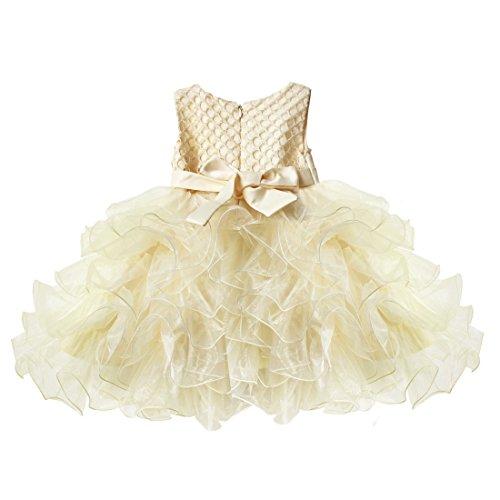 イーエフイー)EFE こどもドレス 女の子 女児ドレス ふわふわチュチュスカート ビーズの上着