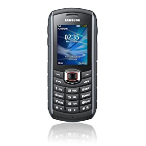 Samsung GT-B2710, Dust and Water Resistant Unlocked Phone - International Version - Black