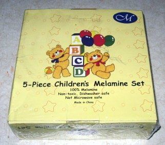 5-Piece Children's Melamine Set