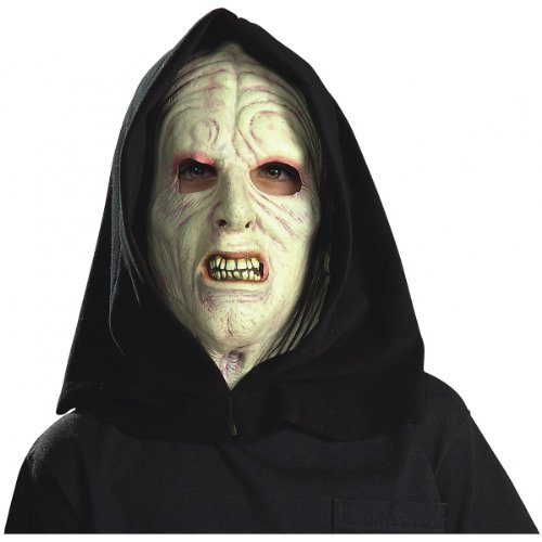 Emperor Palpatine 3/4 Mask Costume Accessory
