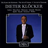ディター・クレッカーの芸術 [Import] (Dieter Klocker - The Art of the Clarinet)